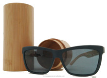 2015 Top-sell PC frame+bamboo/wood temples wayfarer colorful lenses