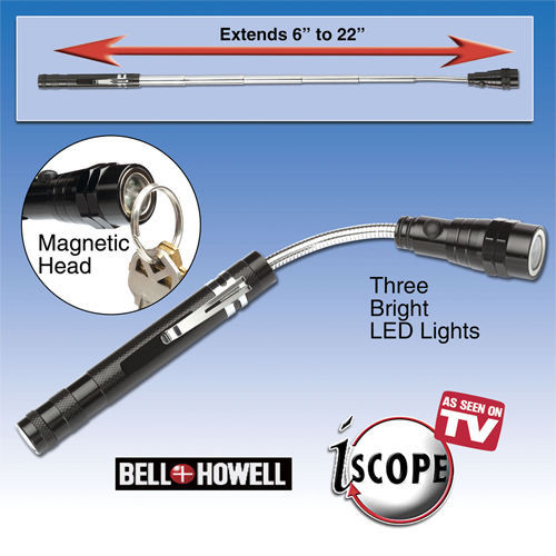 selling bell howell telescopic light flashlight expandable twist torch. Black Bedroom Furniture Sets. Home Design Ideas