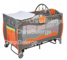 baby camp cot, wooden baby playpen,baby folding bed