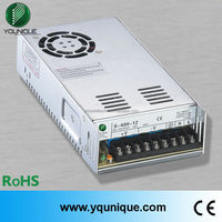 Factory Direct 400w single output CE RoHs approved S-400-24 24 volt switch power supply