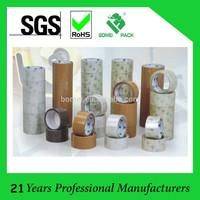 Carton Sealing Use and BOPP,bopp film + water acrylic glue Material Adhesive packing tape