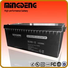 nuovo design agm vrla batteria al piombo sigillata batteria scatole made in china