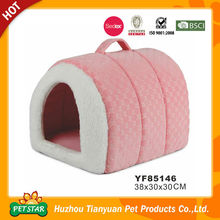 Carrier Bag Design Portable Colorful Dog Bed with Cover