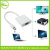 Thunderbolt Mini DisplayPort DP to VGA Adapter Converter for MacBook