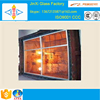 Supply China fireproof glass for fireplace decorations