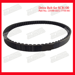 Various Models 23100-GCC-7710-M1 Top Quality China Rubber Belt For Motorcycle