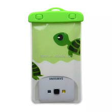 universal size PVC material waterproof bag for mobile phone 6inch max