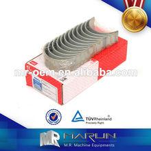 Mahle cojinete de biela para fabricantes de mitsubishi/komatsu cigüeñal cojinete de shell
