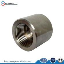 tube end cap forged asme b16.11 female thread steel pipe fitting