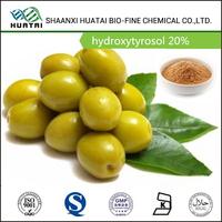 olive fruit extract most powerful antioxidant hydroxytyrosol 20% powder