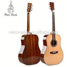 41 pulgadas guitarra acústica Spruce sólida con precios más bajos