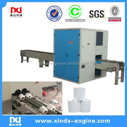 high speed automatic tissue roll cutting machine,high speed toilet paper roll log saw machine SP280