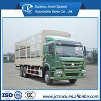SINO HOWO 6X4 box type cargo truck