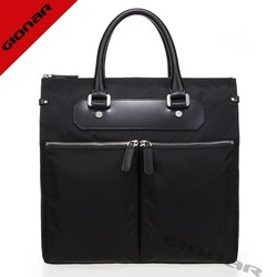 Famous brands fashion business briefcase bag for men , cheap nylon bag man bag in leather