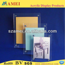 High quality hot sell acrylic magnetic photo frame
