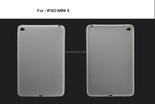 top quality altru thin soft tpu skin case cover for ipad 4 mini