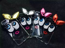 For iPhone 6 Plus case - Big eyes Small lips Soft TPU Case for iPhone 6 Plus