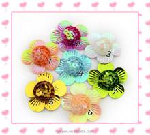 Shell sequins hemisphere flower garment accessories wholesale party