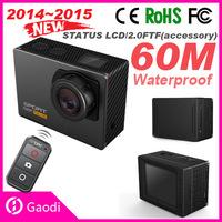 New arrival video camera wife camera 60m underwater sport camera