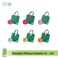 Promotional polyester foldable shopping bags OEM ALD767