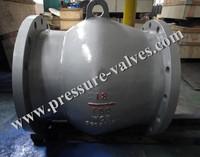 Nozzle type Check Valve (Non-slam valve Axial-flow check valve)
