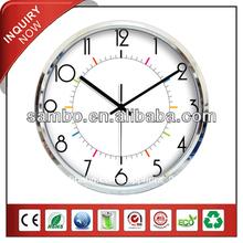 plástico reloj de pared para los artículos promocionales relojes de pared modernos