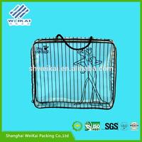 recyclable garment packaging bag, translucent PVC storage bag, Plastic clothes box for gift SHWK1034