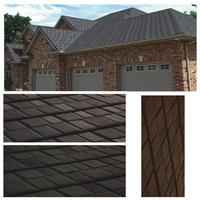 2015 New Design Decorative Waterproof Flat Concrete Roof Tile