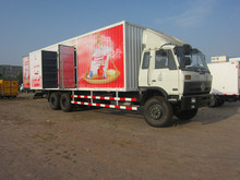 cheaper 5m-11m container truck box body/stainless steel truck body/truck cargo box accessories