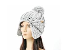 Fashional Acrylic Jacquard Knitting Earflap