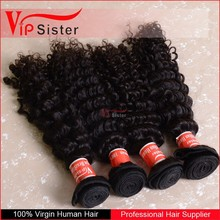 Unprocessed human soft new arrival beautiful indian 100% remy curly hair