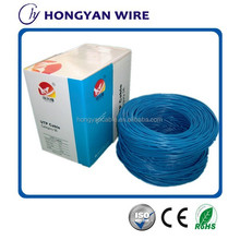 HDPE Insulation Cat5e Lan Cable RoHS CE ISO Standard Cable Cat5e made in china