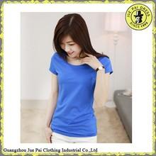 Promotion cheap wholesale soft cotton plain tshirts