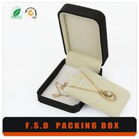 fashionable unique design wholesale black paper gift packaging box
