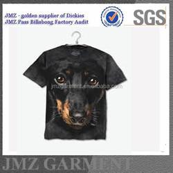 dog fashion photographic men t shirt