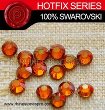 Professional Swarovski Elements Topaz (203) 6ss Crystal Iron On Rhinestone