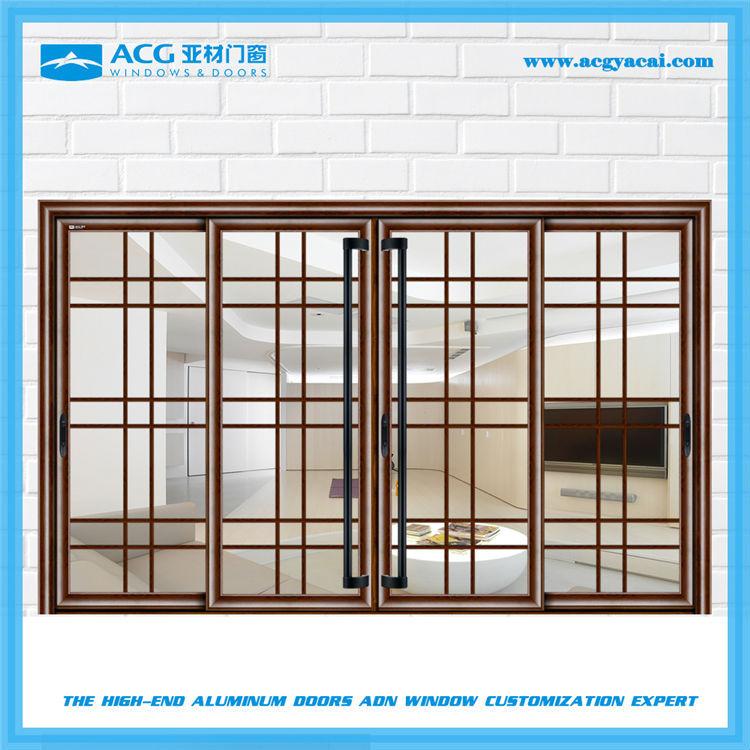 Acg бренд французский дизайн балкон раздвижные алюминиевые д.