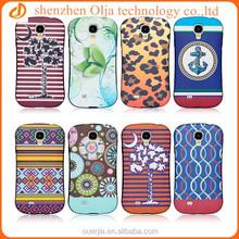 Olja small waist custom phone case for samsung galaxy s4, print case for samsung s4 cover