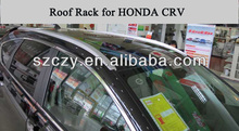 Aluminum alloy + ABS silver or black Car roof rack for Honda CRV 2012