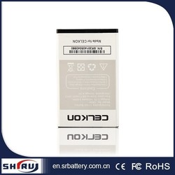 3.7V high quality replacement 1800mAh li-polymer battery for Celkon phone