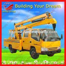 AMS 14 M ISUZU Aerial Crane Truck 0086 371 65866393