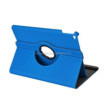 360 rotating pu leather case for ipad air2 ipad air 6 with card slot