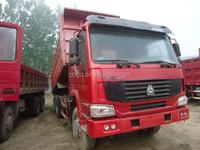 Used Tipper Howo Dump Truck 25T 6X4 Model high quality trucks Howo Shacman Volvo brands Original parts dump trucks
