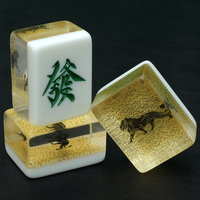 Custom Mahjong Manufacturer With Customized Logo Wooden Box