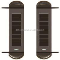 Solar wireless home perimeter alarm system