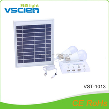 Vsicen Special home solar power bank system for phone charging lighting