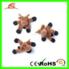 LE Alibaba Supplier Brown Cow Plush Magnet Toys As A Refrigerator