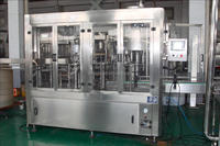 Washing, filling and capping, 3 in 1 high speed minerial water filling line