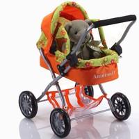 EN71 european style 2014 new design lifelike baby doll pram stroller