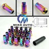 MUTEKI RACING WHEEL LUG NUT 20+1 RAINBOW COLOUR SR48